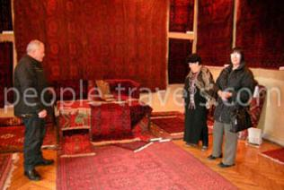 Festival of antique carpets in Bukhara