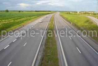 New way. In Andijan region will be a new motorway