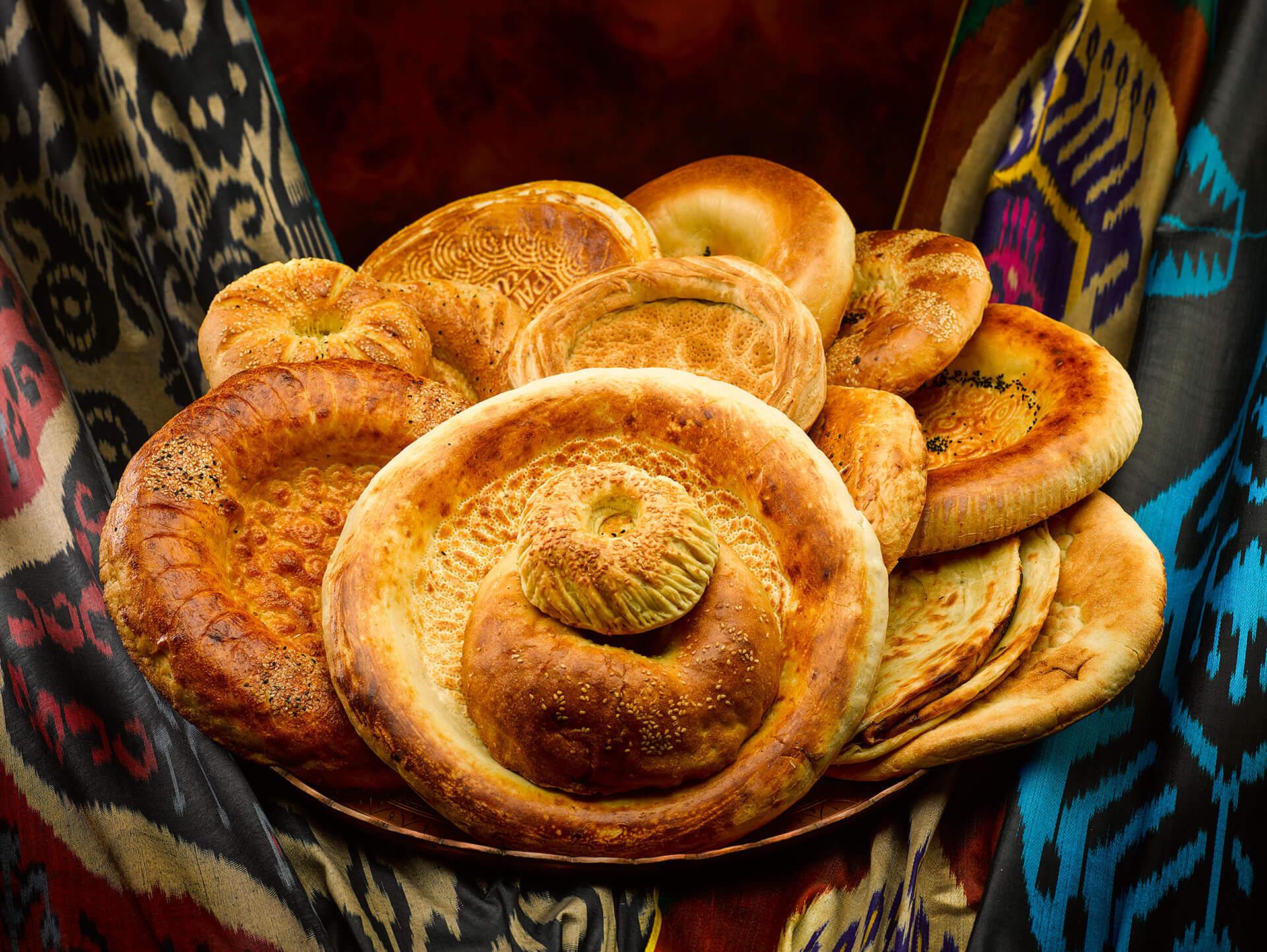 Flat cakes Uzbek: recipe cooking at home 19