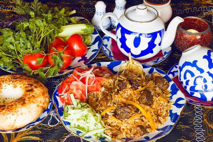 Uzbekistan Traditional Food Imprescriptible Part Of Uzbek Culture