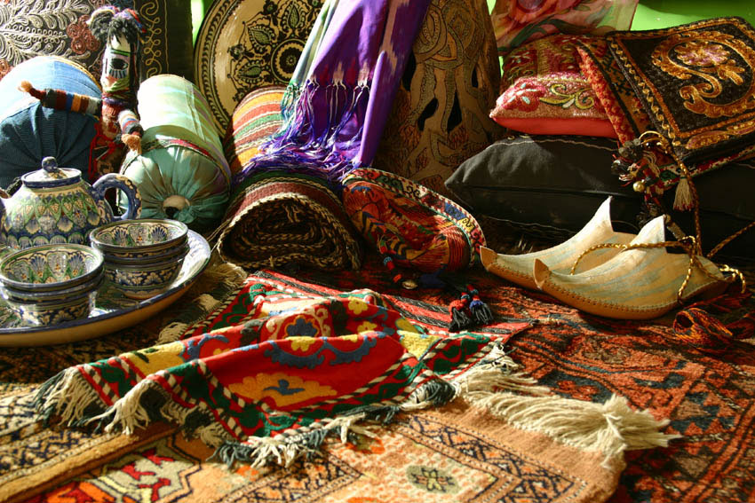products of the Silk Road