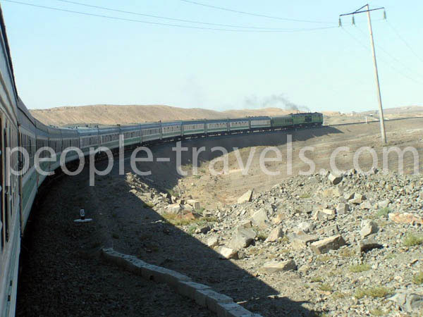 Train Trips Photos - Uzbekistan Photo Gallery