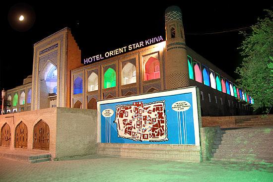Accommodation In Orient Star Hotel Khiva Full Information