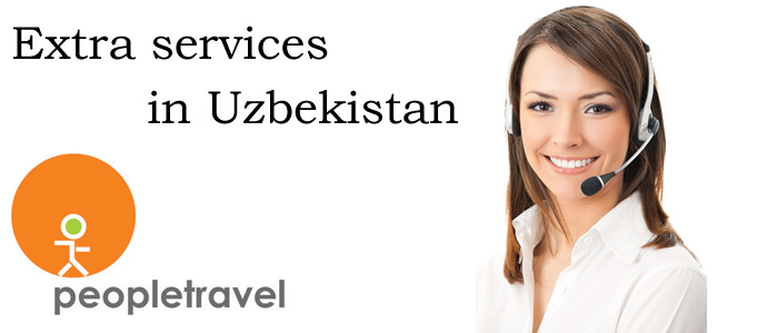 Extra services in Uzbekistan from Pepletravel company