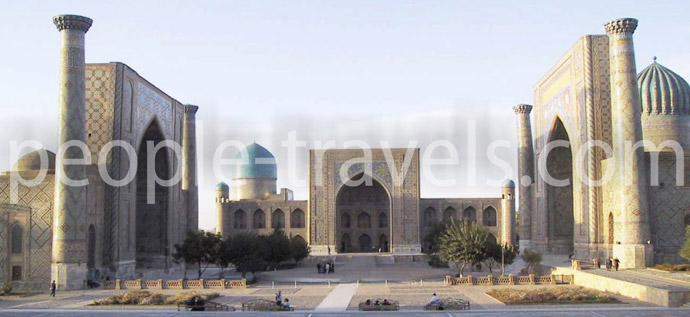 Tours around Uzbekistan