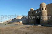 Usbekistan Tourismus. Khiva: Caravan-Stadt