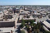 Khiva: gegründet von Noah Sohn. Besichtigungsorten in Usbekistan