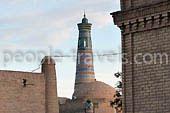 Lugares de visita en Khiva. Los lugares de esplendor inigualable